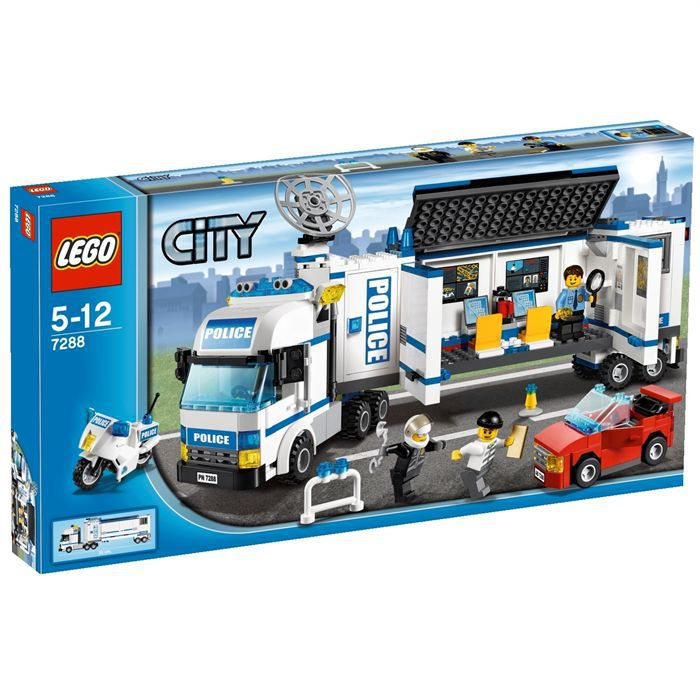 Object moved - Lego city police camion ...