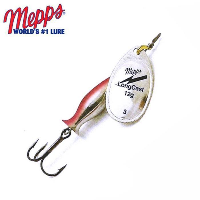 spoon Mepps aglia long argent un des meilleurs détraqué du tout 4,5-29 Grammes