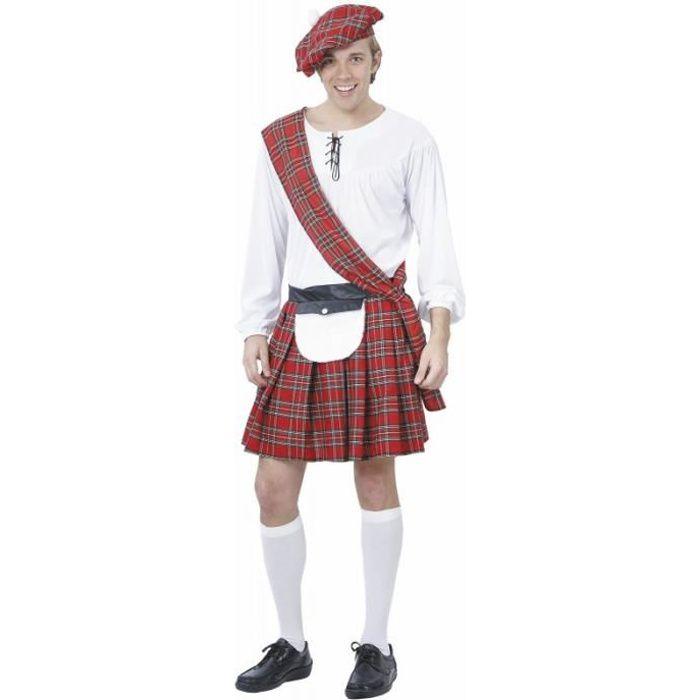 Deguisement ecossais homme - Achat / Vente