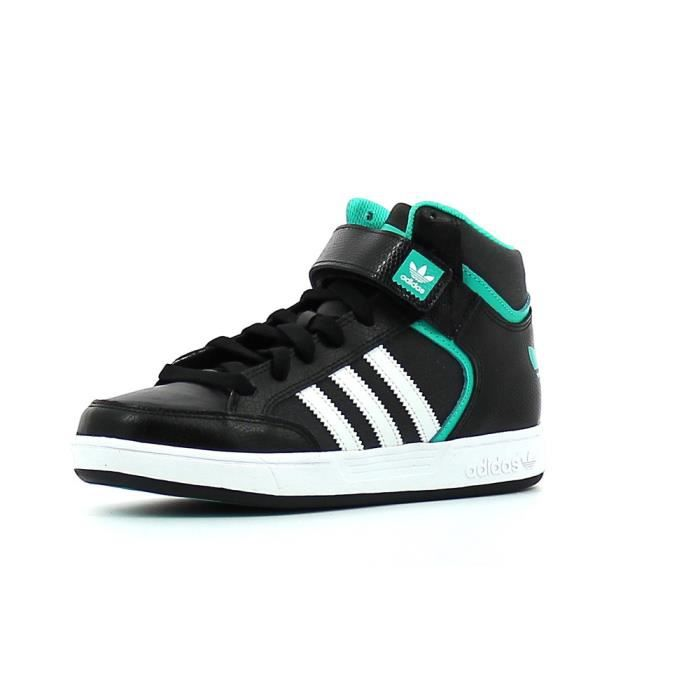 adidas Varial Mid chaussures noir jaune turquoise