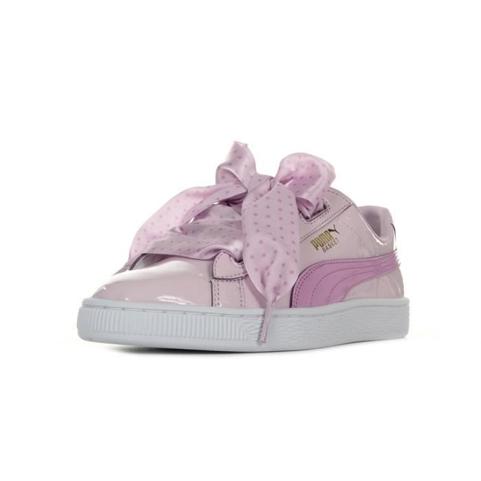 Baskets Puma Basket Heart Stars Jr