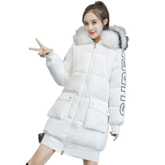 e25acaad3 Fashion Winter Women Jacket Long Thick Warm Down Jacket Slim Coat Overcoat  Autumn