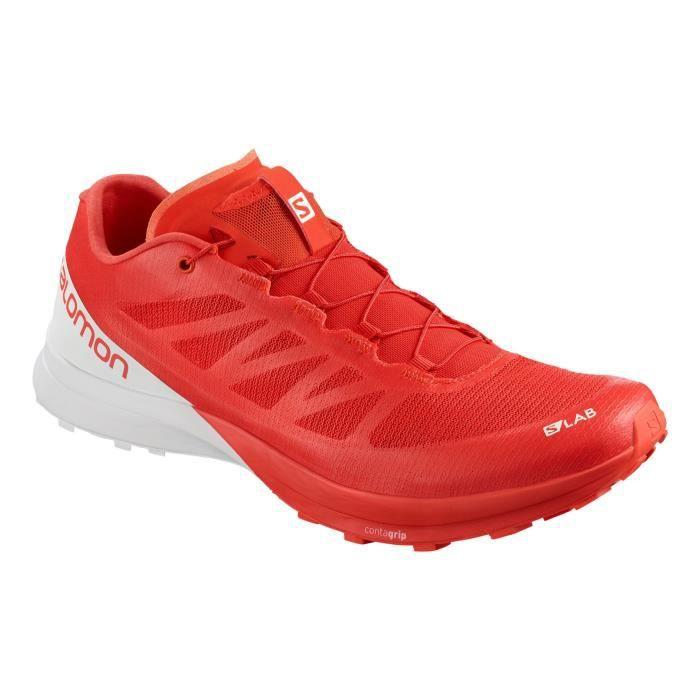 Rouge SENSE7 Homme Running PE Racing SLAB SALOMON Chaussures 3q5ALj4R