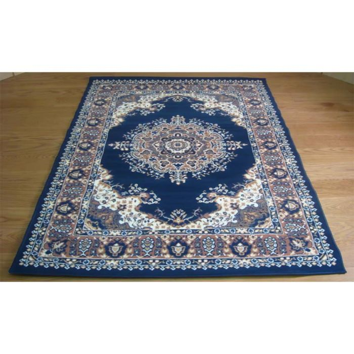 persian 4480 bleu tapis classique cm 180x270 achat vente tapis cdiscount. Black Bedroom Furniture Sets. Home Design Ideas