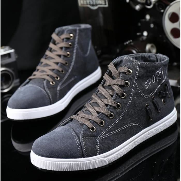 chaussures montantes Mode Chaussure Homme Basket Homme Skate Shoes kIGgDOsK4S