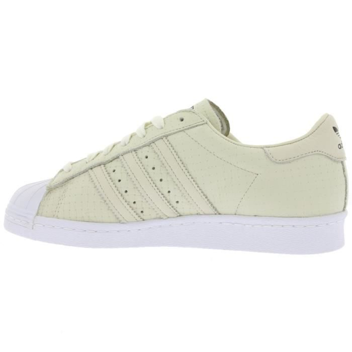 adidas Originals Superstar 80s Woven Sneaker Beige S75006