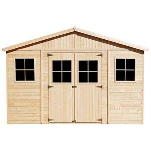 ABRI JARDIN - CHALET M330 ABRI de jardin en bois Exterieur - Chalet en