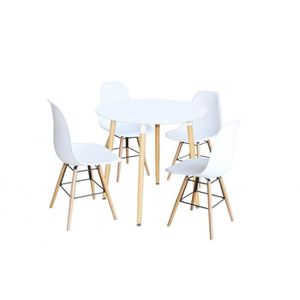 table et chaise scandinave achat vente table et chaise scandinave pas cher soldes d s le. Black Bedroom Furniture Sets. Home Design Ideas