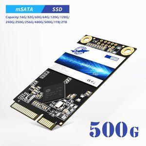 DISQUE DUR SSD Dogfish mSATA 500Go SATA3 III lecteur à état solid