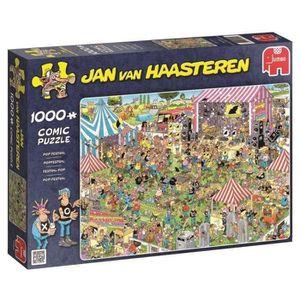 PUZZLE Puzzle 1000 Pièces - FESTIVAL POP - Jan van Haaste
