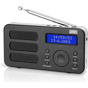 RADIO CD CASSETTE Poste Radio Portable Digitale FM Dab RNT – August