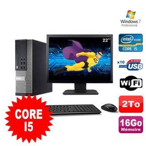 UNITÉ CENTRALE  Lot PC Dell Optiplex 990 SFF I5-2400 3.1GHz 16Go 2