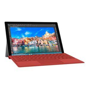 CLAVIER D'ORDINATEUR MICROSOFT Clavier Type Cover Surface Pro 4 - Rouge