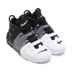 wholesale dealer 675e3 8d187 ... baskets nike air more uptempo chaussures femme noir gris frais