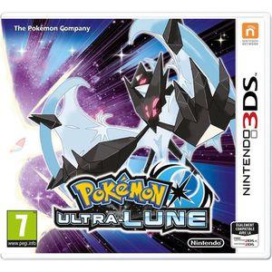 JEU 3DS Pokémon Ultra-Lune Jeu 3DS+1 porte clés+1 figurine
