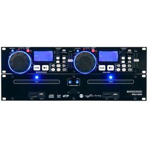 BALADEUR CD - CASSETTE Pronomic CDJ-230 double DJ lecteur CD avec USB & S