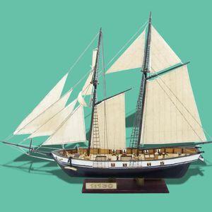 MAQUETTE DE BATEAU TEMPSA Modèle Assemblage de Bateau Kits HARVEY1847