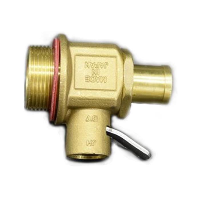 M27 * 1.5 vanne de vidange d'huile rapide pour moteur de pelle avec mamelon L69018