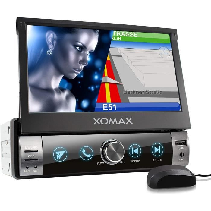 AUTORADIO XOMAX XM-VN764 Autoradio avec Mirrorlink pour Android I Navigation GPS I cartographie Europe I Bluetooth I &Eacutecra29