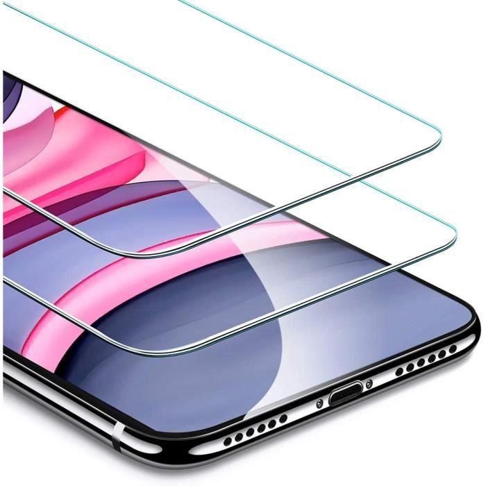 Film Verre Trempé Samsung Galaxy A12, Film Protège Écran Ultra-Fin 0.3 mm Anti-Rayure Anti-empreinte Digitale 2 Pièces