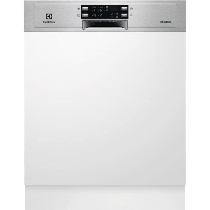 Lave-vaisselle encastrable ELECTROLUX ESI5545LOX - 13 couverts - Largeur 60 cm - 46 dB - Blanc