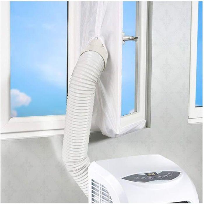 Mellifluous 400cm Joint de Fenêtre pour La Climatisation Mobile et Sèche-Linge,Fonctionne avec Toutes Les Unités De Climatisation