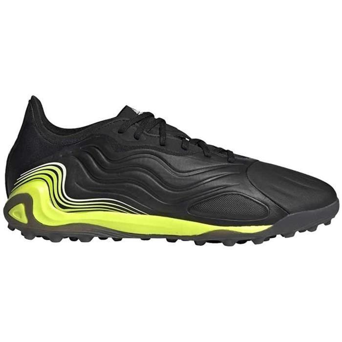 Adidas Copa Sense.1 Tf , Chaussures De Football Homme, Noir, Blanc, Jaune (Negbás Ftwbla Amasol), 40 Eu