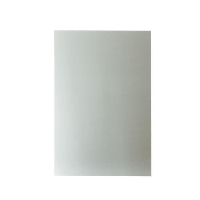 NORDLINGER PRO Plaque composite - Aluminium - 80 x 120 cm 3/0,15 mm - Brosse