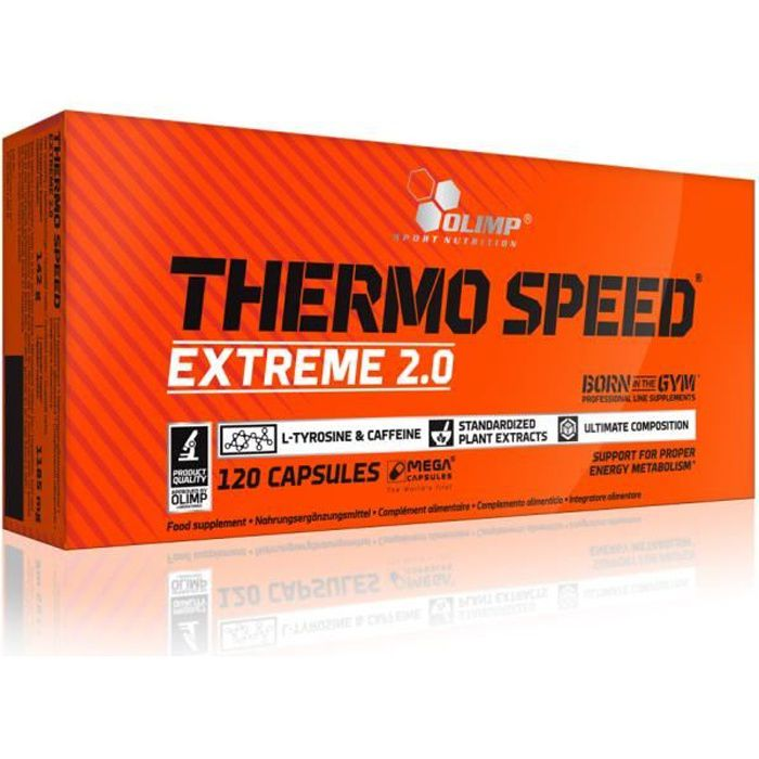 Thermo Speed Extreme 2.0 120caps Olimp Nutrition