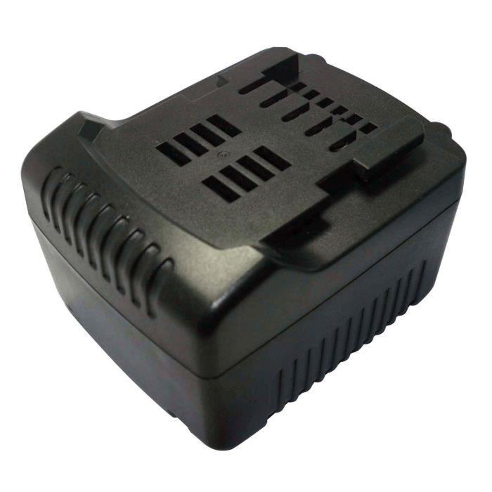 PowerSmart® Batterie de remplacement 14,40V 4000mAh pour METABO SLA 14.4-18 LED, SB 14.4 LT Impuls 6.02140.50