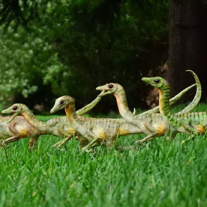 Modèle de dinosaure de simulation, résine, statue faite à la main, ornement de jardin, décoration de cour