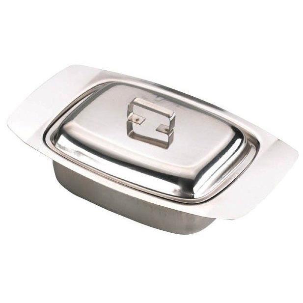 plateau beurrier avec couvercle en acier inoxydable détenteur beurre