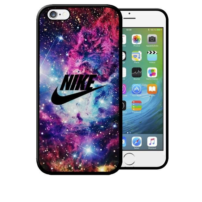 coque iphone 6 6s nike galaxie etoiles sport logo