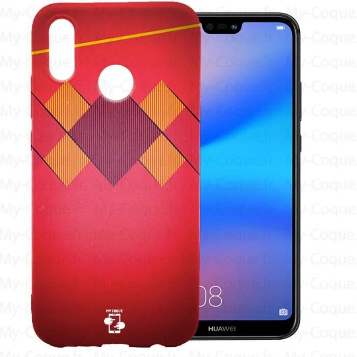 Coque Huawei P20 Lite Foot Equipe Belge a personna