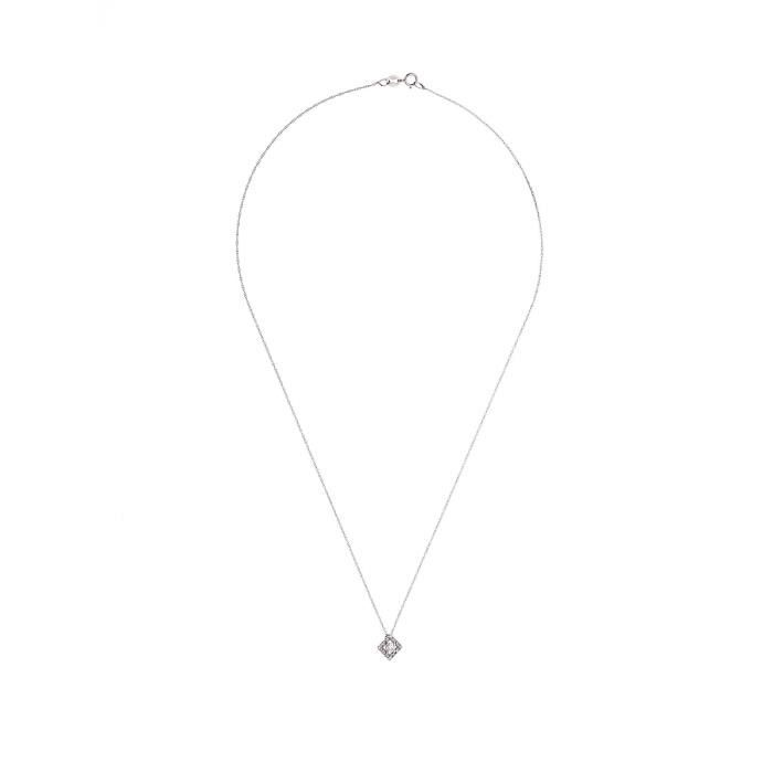 DIAMOND LANE Collier Or Jaune 375° et Diamants 0,15 cts Femme