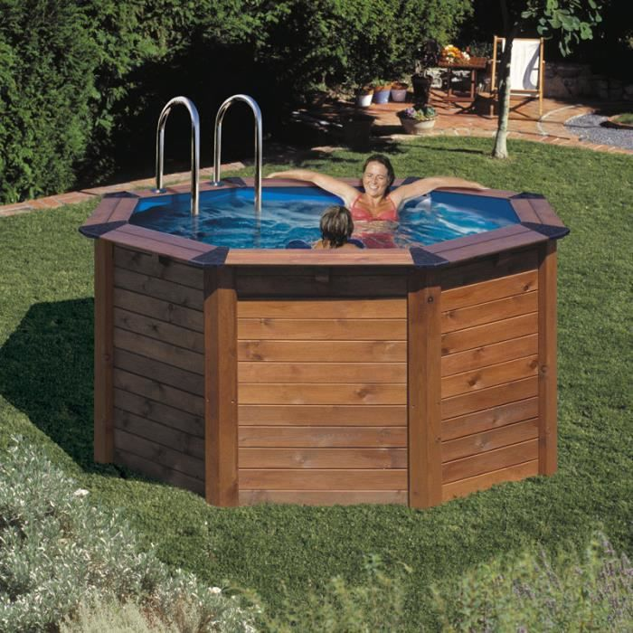 piscine hors sol ronde nature pool diam filtre. Black Bedroom Furniture Sets. Home Design Ideas