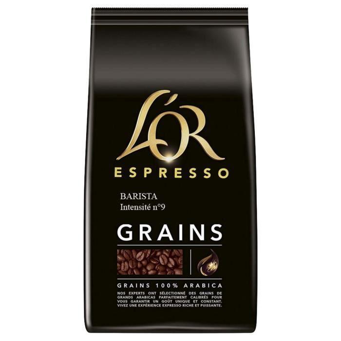 CAFÉ L'Or Barista N°9 Café En Grains 1Kg