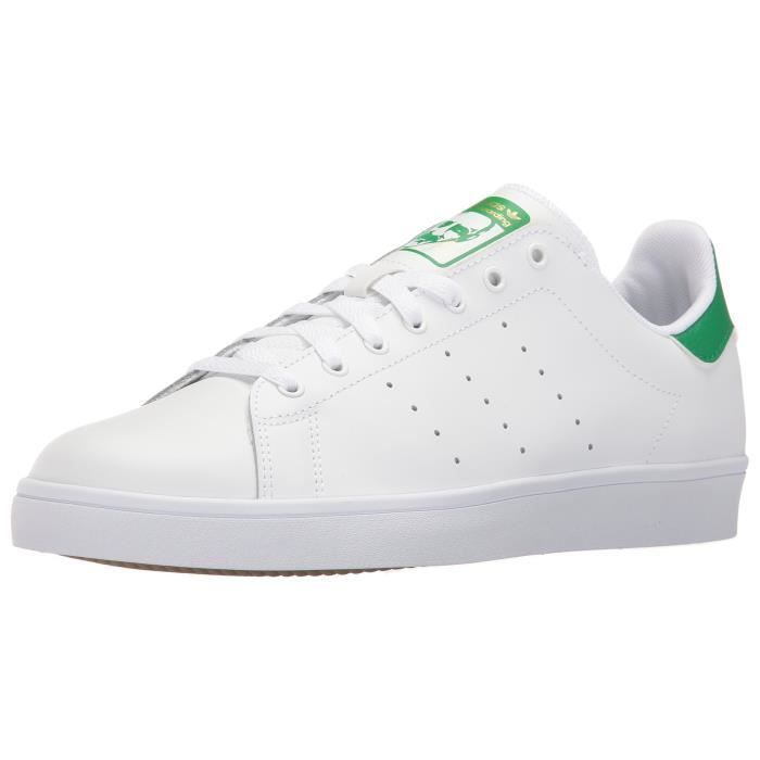 Originals Stan Smith vulcChaussures Adidas - blanc (M17189) LDcWXPV1
