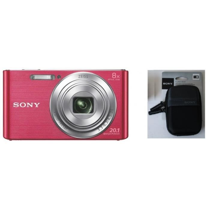 APPAREIL PHOTO COMPACT Compact numérique SONY - DSCW 830 PTWDI • Appareil