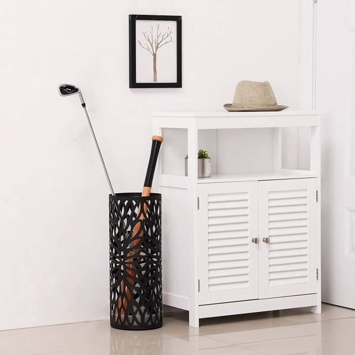 porte parapluie metal noir achat vente pas cher. Black Bedroom Furniture Sets. Home Design Ideas