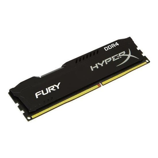 HYPERX Mémoire PC FURY Black - 8Go - DDR4 - 2133MHz - CL14 - DIMM -HX421C14FB2/8