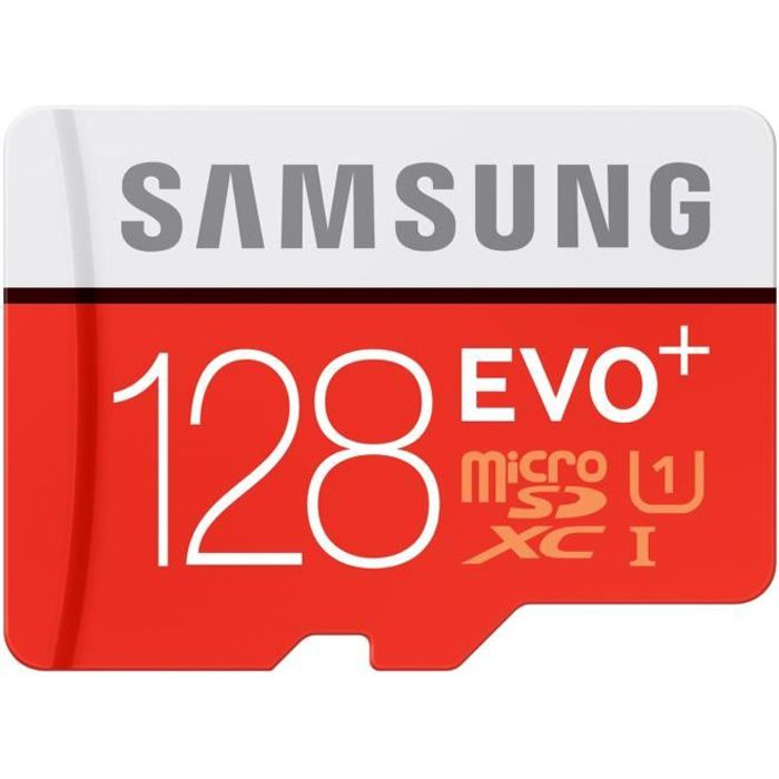 Samsung Micro SD Evo PLUS Adapt SD 128Go