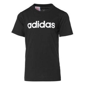 T-SHIRT MAILLOT DE SPORT ADIDAS Tee-Shirt LIN TEE - Noir