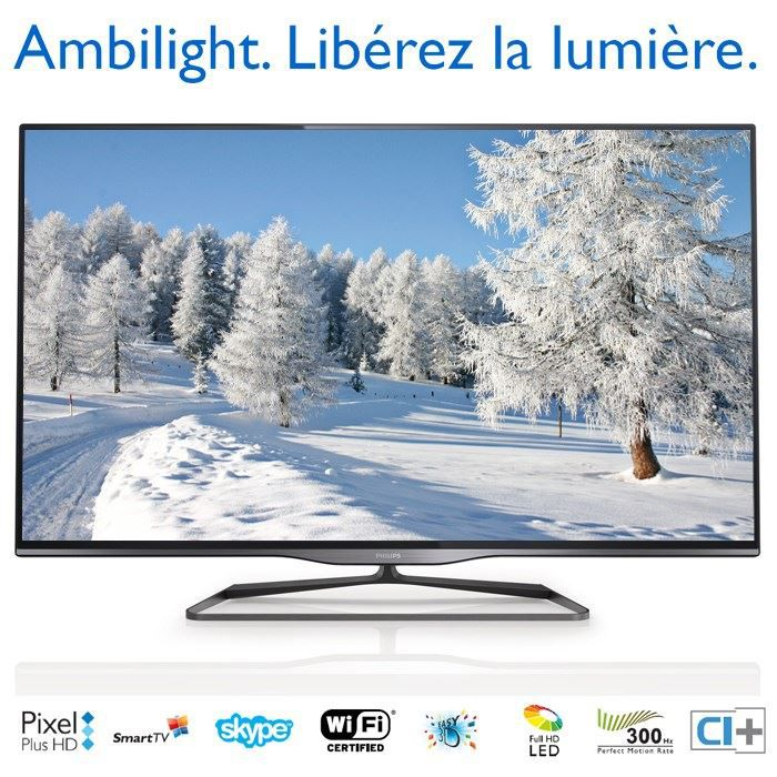 philips 50pfl5028h tv 3d ambilight 127 cm t l viseur led avis et prix pas cher cdiscount. Black Bedroom Furniture Sets. Home Design Ideas