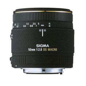 OBJECTIF SIGMA 50mm F2.8 DG Macro EX pour SONY
