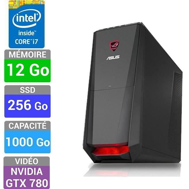 asus rog pc gamer g30ab fr028s prix pas cher les soldes sur cdiscount cdiscount. Black Bedroom Furniture Sets. Home Design Ideas