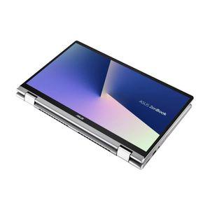 Un achat top PC Portable  Ordinateur convertible ASUS ZenBook Flip tactile UM462DA-AI028T 14''FHD - AMD Ryzen 5 3500U - RAM 8Go - stockage 512Go - NumPad -W10 pas cher
