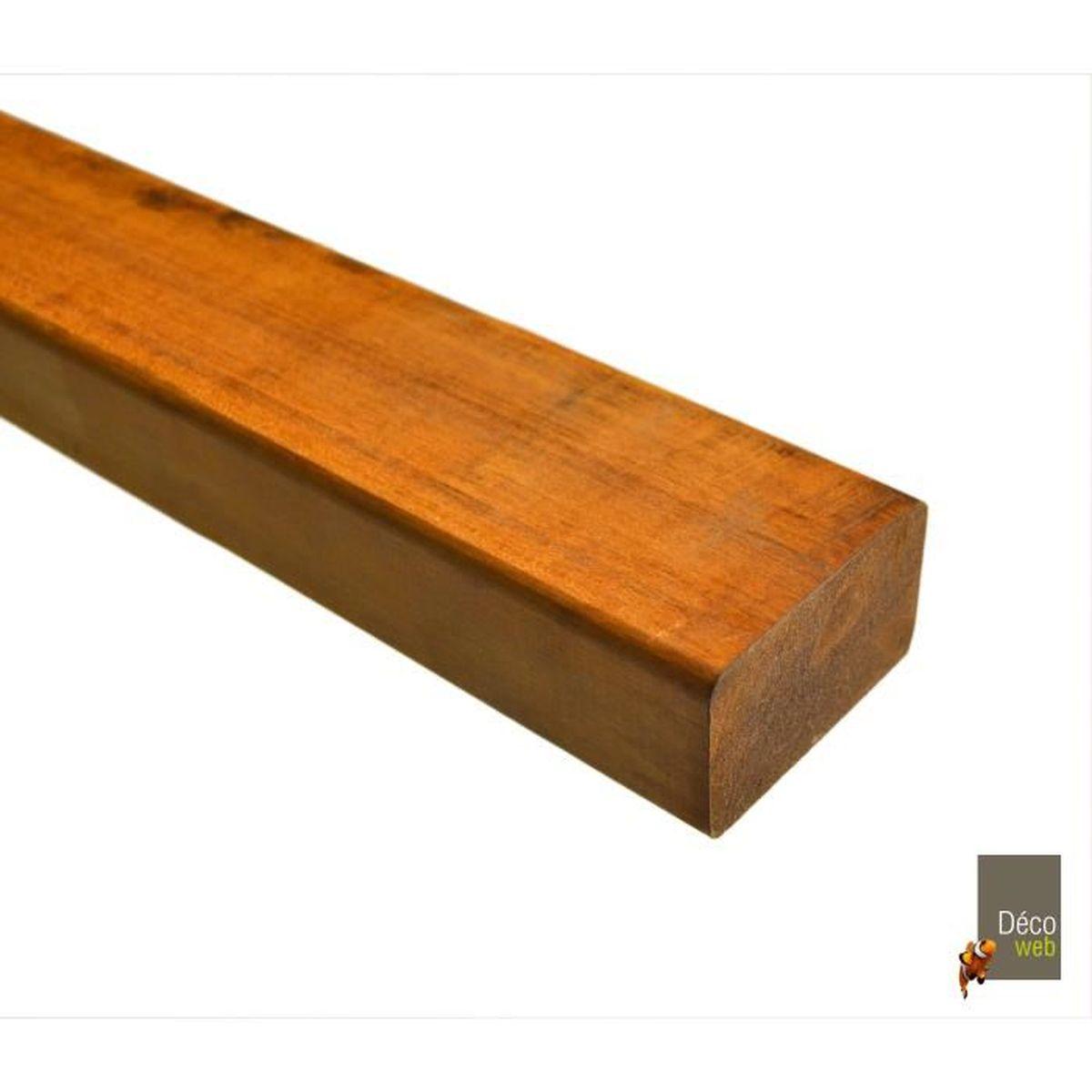 Vente Bois Pour Terrasse lot de 20 lambourdes en bois exotique pour terrasse - 150 cm
