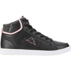 BASKET MULTISPORT KAPPA Chaussures Aperym Mid - Enfant - Noir / Rose