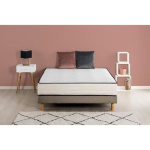 ENSEMBLE LITERIE HOTEL SEASONS Ensemble matelas + sommier 140x190 c